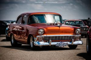 1956 Chevrolet 210 by AmericanMuscle