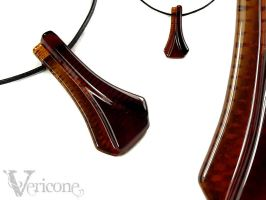 Temporis - glass lowrider pendant by vericone