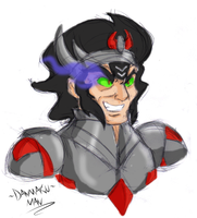 Request: King Sombra Humanized by DANMAKUMAN