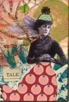 Straight Talk ATC by LauraTringaliHolmes