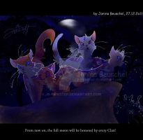 Code of the Clans -Honore the Fullmoon by JB-Pawstep