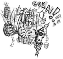 Corn Berzerker by Keydan