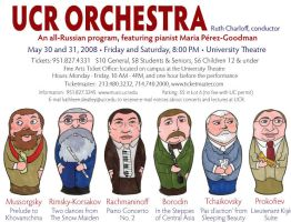 UCR Orchestra Poster by mitya