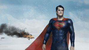 Man of steel speed painting by XiaMan