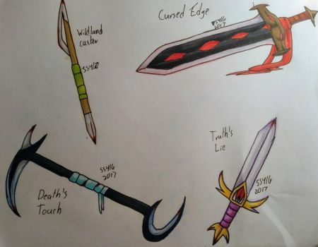 Weaponry: The thieves tools by Snowstorm416