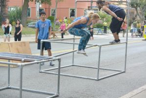Summer Days Street Fair, Balance and Jump by Miss-Tbones