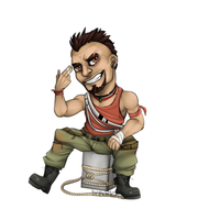 Vaas Key Chain by Boburto