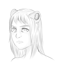 Quick Sketch of an OC by aLameUserName