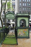 Ticket booth by LucieG-Stock