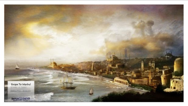 Escape to Istanbul by LasRever