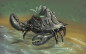 I saw a mudcrab the other day . . . by PoorGent