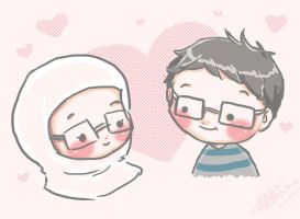 Me and my hubby by GaGaGakun