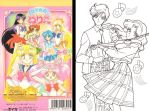 Sailor Moon World Coloring Book by avaneshop