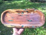 Finished oval tray w turquoise by lamorth-the-seeker