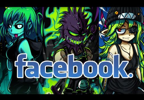 Follow me on facebook! by ichimoral