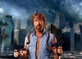 Chuck norris 1 New York 0 copy by badger4r