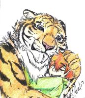 Hug Series--Morgan and Tyre!tiger by mistress0minx