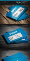 Social Media Business Card by artnook