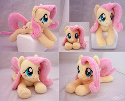 Lying Fluttershy Beanie V2 by lazyperson202