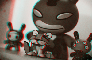 Anaglyph - Dunnys and Cutter by coloson