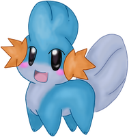 Mudkip by ehvin