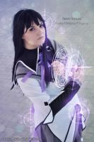 Homura Akemi - Time and Time again by IrethMinllatur