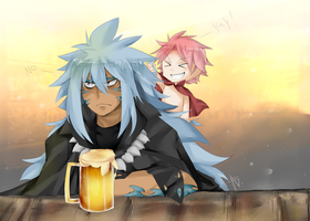 Acnologia the babysitter by Wes80