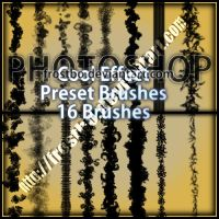 Preset Cool Effect Photoshop brushes by FrostBo