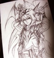 Dragon Knight by bmad95