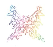 Colorful Butterfly by starflower135