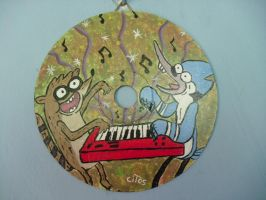 Regular Show The Power CD by madame-green