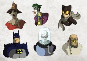 Rogues Gallery by radd