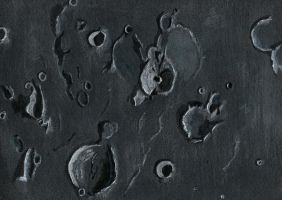 moon surface by Lemures87