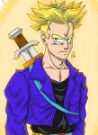 :Mirai Trunks: going  super-saiyan by Lala-Dello