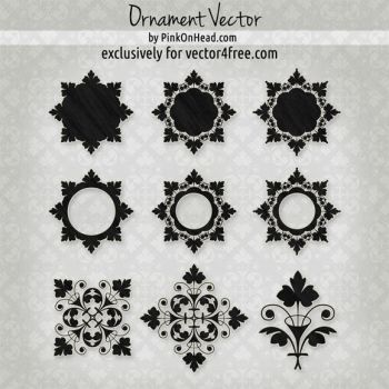 Ornament Vector by PinkOnHead by pinkonhead