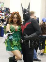 Poison ivy and Batman Animated by mjac1971