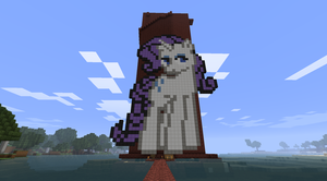 Minecraft: Rarity Grindin' by LotusFlowerful