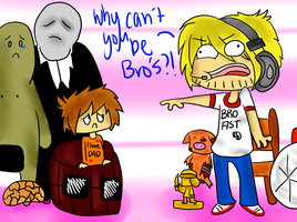 Pewdiepie - WHY YOU NO BRO by Extreme-Try-Hard