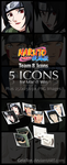 Naruto II Team 8 Icons by NarutoPlanet