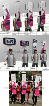 TV Backpack Vivaz Activation by emilyting
