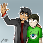 Ozad and Isaias by Camos8A