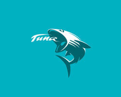 Logo Tuna by Galitsyn