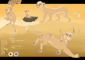 Mbele Ref Sheet by Howikin
