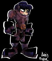 Beck From Mighty No. 9 by DaveTheSodaGuy