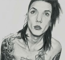 Andy Biersack by ShadowofChaos666