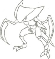 Kabutops Sketch by CoolMan666