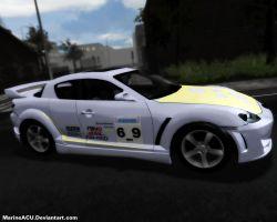 MLP Cars: Derpy Mazda RX-8 by MarineACU