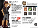 Monster High OC Hunter Fenrir Bio by chunk07x