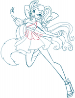WIP Sketch - Isabelle Charmix by EnchantingRainbow