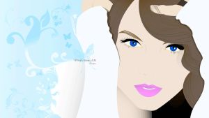 Vector Taylor Swift by AnnieSerrano